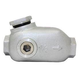 """Florida Pneumatic UT9310-1 #0 1/2"""" Pipe 1.4 oz. Capacity In-Line Oiler"""