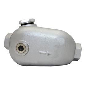 """Florida Pneumatic UT9320-1 #1 3/4"""" Pipe 4 oz. Capacity In-Line Oiler"""