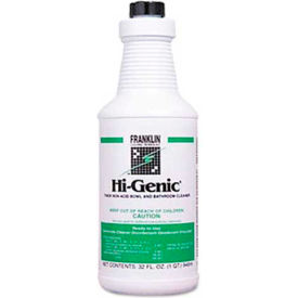 Hi-Genic® Non-Acid Bowl & Bathroom Cleaner, 32 Oz. Bottle 12/Case - FKLF270012CT
