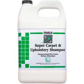 Franklin Super Carpet & Upholstery Shampoo, Gallon Bottle, 4 Bottles - F538022