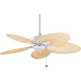 Fanimation FP7500MW Windpointe Ceiling Fan, 2812 CFM, 122 RPM, Matte White