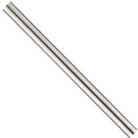 "1/4"" x 6"" Vermont Gage HSS Extra Long Drill Blank"