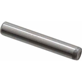 "Camcar® Dowel Pin Plain Steel 1/2""x1"" - 20 Pack - Made In USA"