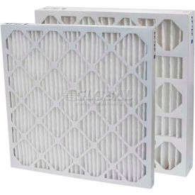 "Filtration Manufacturing 0213-15202 Pleated Filter, Merv 13, 15""W x 20""H x 2""D - Pkg Qty 12"