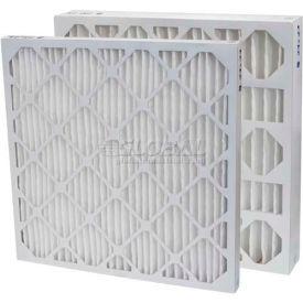 "Filtration Manufacturing 0213-24302 Pleated Filter, Merv 13, 24""W x 30""H x 2""D - Pkg Qty 12"