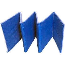 "Filtration Manufacturing 0801-2-2448 Ring Link Filter, 2 Ply, 48""L x 24""H x 1""D - Pkg Qty 12"