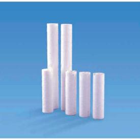 """Melt Blown Water Cartridge, Polypropylene, 10 Micron 2-1/2""""Dia. X 10""""H - Pkg Qty 48"""
