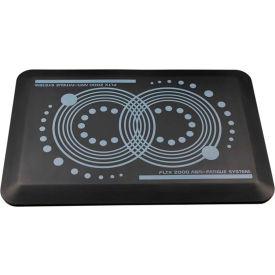 """AFS-TEX System 2000 Anti-Fatigue Mat 16"""" x 24"""" Midnight Black"""