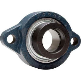 """FYH 2 Bolt Flange Mounted Ball Bearing ALF20516FP9, 1"""" Bore Dia., Eccentric Collar, Compact by"""