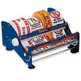 "Multi Roll Table Top Label Dispenser 12"""