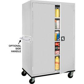 Sandusky Mobile Storage Cabinet TA4R462472 - 46x24x78, Gray