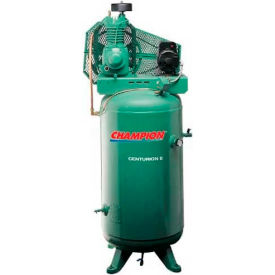 Champion® CCSRVAGI04,  2 Stage Elec. Air Compressor VRV5-6, FP, 5 HP, 60 Gal,230V,1PH, 3600rpm