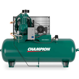 Champion® CCSRVAGI05,  2 Stage Electric Air Compressor HRV5-8, 5 HP, 80 Gal, 208V, 1PH, 3600rpm