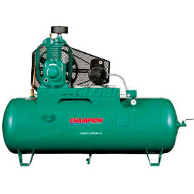 Champion CCSRVAGI37, Two-Stage Electric Air Compressor HRV7F-8, 7 HP, 80 Gal, 208V, 3PH by