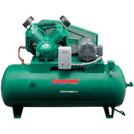 Champion® CCSRVAGI53,  Two-Stage Electric Air Compressor HRV15F-12, 15 HP, 120 Gal, 208V, 3PH