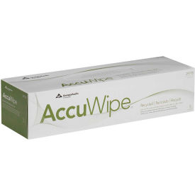 GP AccuWipe White Recycled 3-Ply Delicate Task Wipers, 70 Sheets/Box, 20 Boxes/Case - 29778/03