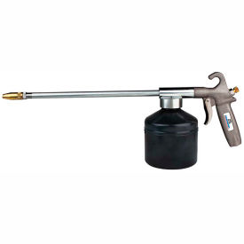 "Guardair 83SG, Syphon Pneumatic Oil Gun W/12"" Extension & 1 Qt screw-on, steel container"