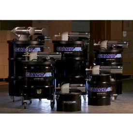 """Nortech 55 Gallon B Pneumatic Vacuum Unit w/ 2"""" Inlet & Attachment Kit N551BC"""