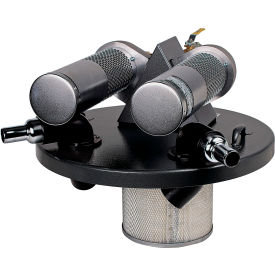 "Guardair 55 Gallon Dual B Pneumatic Vacuum Generating Head w/ Two 1.5"" Inlets - N552BX2"