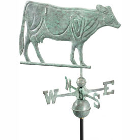 Good Directions Dairy Cow Weathervane - Blue Verde Copper