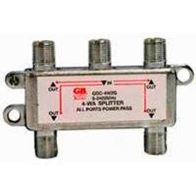 Gardner Bender GDC-4W2G Satellite/Digital TV Splitter - 4 Way