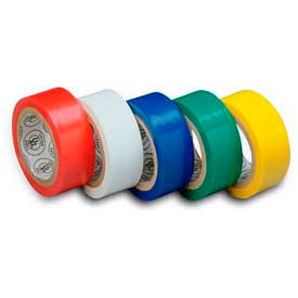 "Gardner Bender GTPC-550 Electrical Tape, 1/2"" X 20', Assorted Colors - 5 Pk"