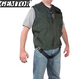 Gemtor 846377-1, Vest Full-Body Harness - Green - CSA - Small