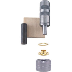 "General Tools 71260 1/4"" Utility Grommet Kit - Pkg Qty 6"