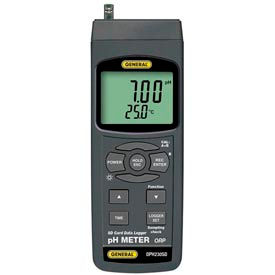 General Tools DPH230SD pH, ORP Meter w/ Data Logging SD Card, DPH230SD