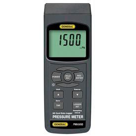 General Tools PM930SD Pressure Meter w/ Data Logging SD Card, PM930SD