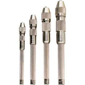 General Tools S94 Single End Pin Vise Set - Pkg Qty 5