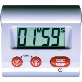 Digital Count-Up/Count-Down Timer, 100 Min - Pkg Qty 20