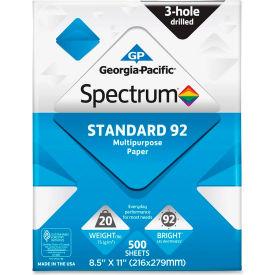"Copy Paper - Georgia Pacific® Spectrum 999813 - 8-1/2"" x 11"" - 92 lb. - White - 5000 Sheets"