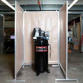 Goff's Stock 3 Sided Sound Control Screen 31810 - 5'W, 5'W & 5'W x 8'H