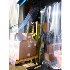 "Goff's 10'W x 10'H Strip Door with Universal Hardware - 12"" Strip Width"
