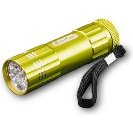 Power By GoGreen GG-113-09LG 9-LED Flashlight Lime Green - Pkg Qty 6