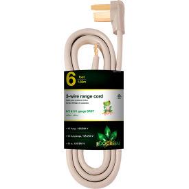 GoGreen Power, GG-27006, Range Cord Gray - 6 Ft