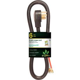 GoGreen Power, GG-27206, Range Cord Black - 6 Ft