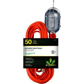 GoGreen Power, GG-36750, 50 Ft Portable Hand Lamp - Orange