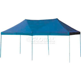 The Party Tent Canopy with Accordion Steel Frame 10' x 20', Blue