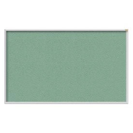 "Ghent® 36""W x 24""H Aluminum Frame Vinyl Bulletin Board - Mint"