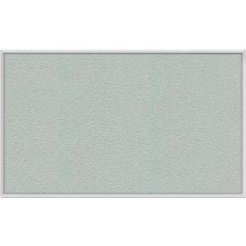 "Ghent® 36""W x 24""H Aluminum Frame Vinyl Bulletin Board - Silver"