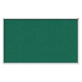 Ghent® 4' x 10' Aluminum Frame Vinyl Bulletin Board - Spruce