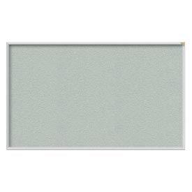 Ghent® 4' x 12' Aluminum Frame Vinyl Bulletin Board - Silver