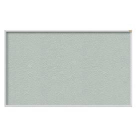 "Ghent® 60""W x 48""H Aluminum Frame Vinyl Bulletin Board - Silver"