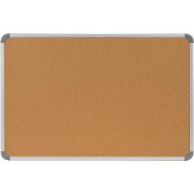 "Ghent® Cintra Corkboard - 48""W x 36""H"