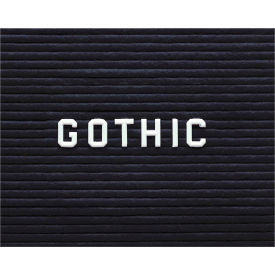 "Ghent® Letter Set - Gothic 3/4""H"