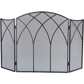 Pleasant Hearth Gothic Fireplace Screen 633