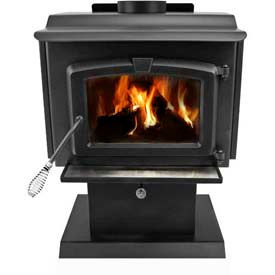 Ft Pedestal Wood Burning Stove Heater With Blower, Small HWS-224172mh