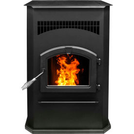 Pleasant Hearth Pellet Stove Heater Cabinet Style 50,000 BTU With 120 Pound Hopper PH50cabps